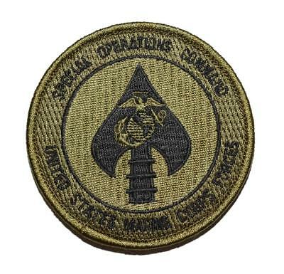 USMC Special Operations Command MARSOC Raider SOF Subdued Unit Patch