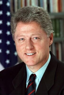 """New 5x7 Photo: William """"Bill"""" Clinton, 42nd President of the United States"""