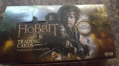 The Hobbit The Battle of the Five Armies Trading Card Collection Boxed Set of 90