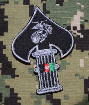 USMC Special Operations Command MARSOC Raider MSOB Afghanistan OEF Unit Patch