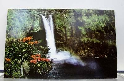 Hawaii HI Rainbow Falls Wailuku River Hilo Postcard Old Vintage Card View Post