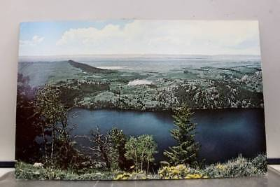 Wyoming WY Skyline Drive Soda Lakes Postcard Old Vintage Card View Standard Post