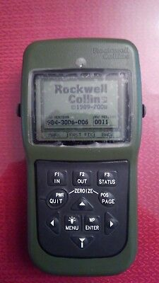 rockwell collins an/psn-13 GPS unit