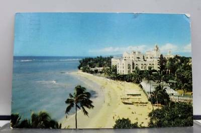 Hawaii HI Royal Hawaiian Hotel Waikiki Beach Postcard Old Vintage Card View Post