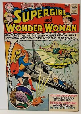 Brave and the Bold 63 VF. Supergirl! Wonder Woman! Superman!