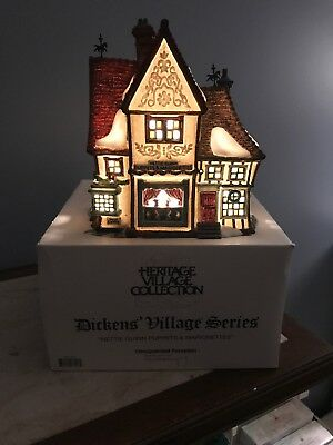 Department 56 Dickens Village Series Nettie Quinn Puppets and Marionettes #58344