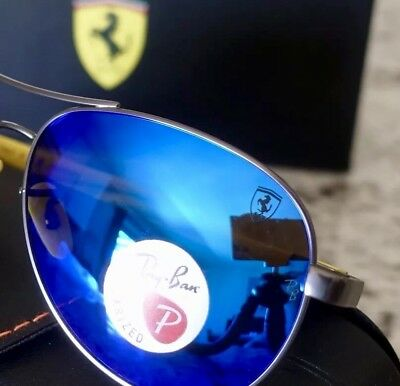 Ray Ban Sale RB8313 Polarized EyeGlasses Ferrari Scuderia