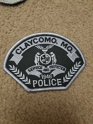 Claycomo Mo Missouri Police Patch Subdued