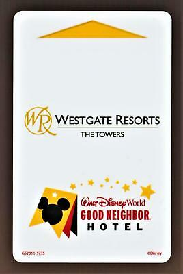 WALT DISNEY WORLD *WESTGATE RESORTS THE TOWERS * key card Fast Safe Shipping #78