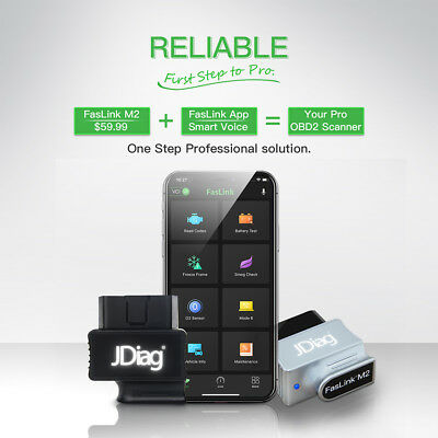 OBD2 Scanner BlueDriver Bluetooth Professional OBDII Scan Tool for iOS& Android