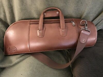 Reunion Blues trumpet gig bag ,leather good + condition