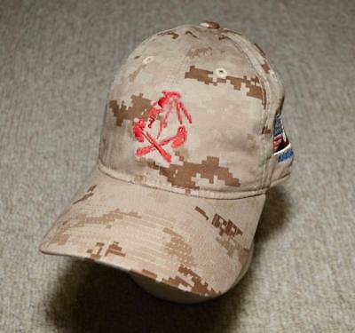 Authentic SEAL DEVGRU ST6 Red Squadron AOR1 Task Force JBAD Afghan Cap Hat