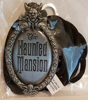 Disney MOG WDI Cast Member Bolo Lanyard Haunted Mansion Plaque