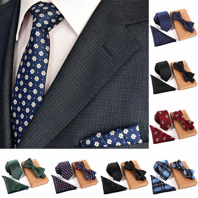 Men's Classic Knitted Cotton Solid Stripe Necktie Wedding Party Neck Ties FT143