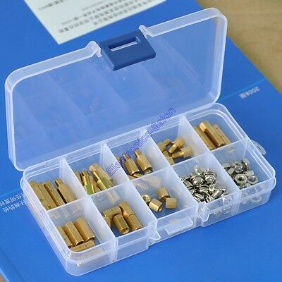 M4 Brass Hex Standoff / Screw / Nut Assortment Kit. x1