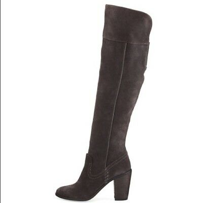 aaec48a64 NEW DOLCE VITA Owin Over The Knee Tall Boots Black Suede Sz 8  280 ...