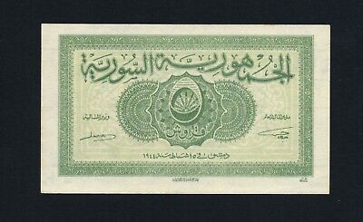 5 piastres 1944 P55 Uncirculated Syrie Syria Syrienne.......................(f9)