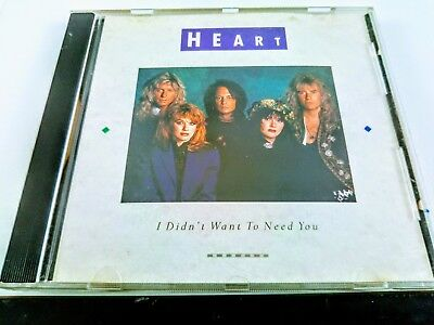 Heart I Didn't Want To Need You Radio Promo CD 1990 DPRO-79073 RARE ANN WILSON