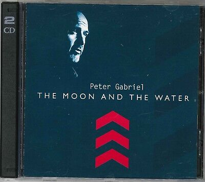 Peter Gabriel The Moon And The Water Italy 2002 Los Angles 1999 1996 2 CD's RARE