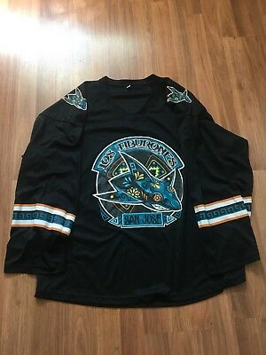 official photos a5527 0ef9b new zealand san jose sharks los tiburones jersey a56fc 9213c