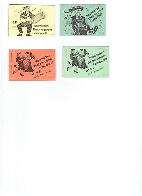 Folk Customs booklets 1977 used 4 different
