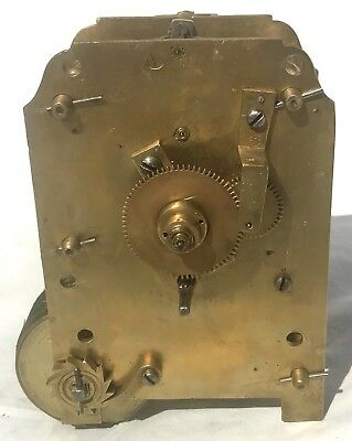 Lovely Antique Long Case Grandfather Wall Bracket Clock Fusee Movement