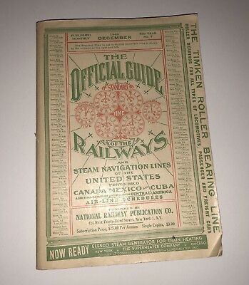 December 1949 official guide of the railways And Steam Navigation Lines