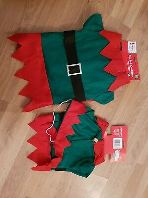 Christmas Accessories - Elf Pet Costume -Dog and Cat Elves Behaving Badly small