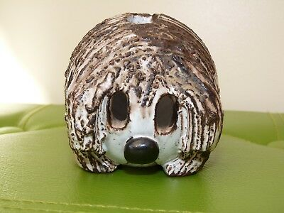 Rare Briglin Pottery Money Box - Dougal Dog