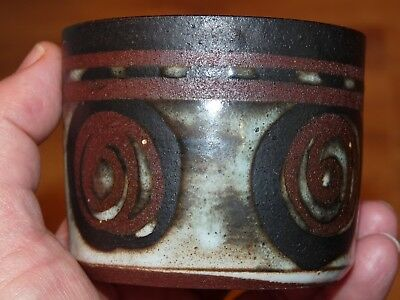 Briglin Studio Pottery Sugar Bowl