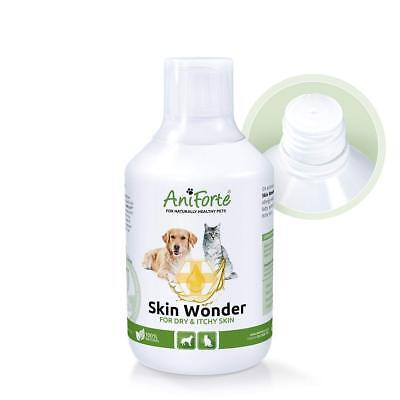Dogs Cats Skin Treatment Itchy Dry + Sensitive Skin Wonder Pet Supplement 500ml