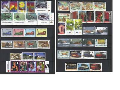 (766) Isle Of Man 1998-1999 Mnh Collection Cat £43+