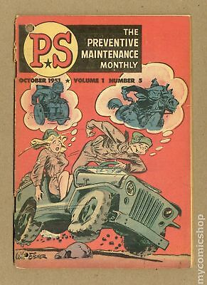 PS The Preventive Maintenance Monthly #5 1953 VG- 3.5