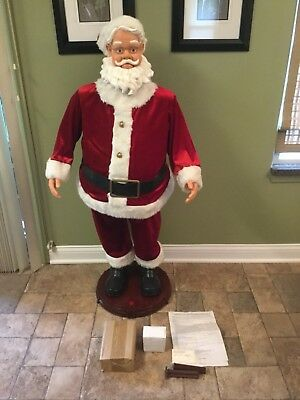 4 FT Animated Singing Dancing Santa by Gemmy