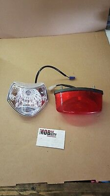 Landlex s400x broadway rs mobility scooter parts  Front Light Rear Light