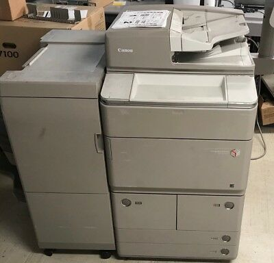 Canon iR Advance 8095 Printer Copier Scanner *76K EXTREMELY Low Meter* 95PPM