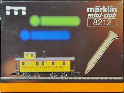 1:220 Z Scale German Made  Marklin - U.s.a. Union Pacific Caboose + Gold Spike
