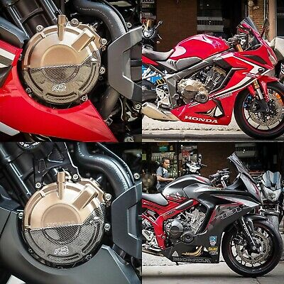 Engine Cover ABS Kevlar For Honda CB650F/CBR650F 2014-2018 Protect The Scratch