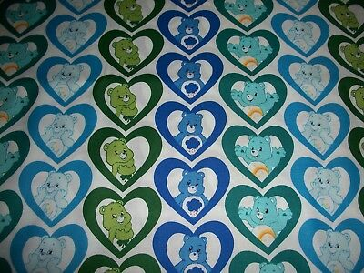 Care Bears vertical  cotton    crib/toddler fitted sheet