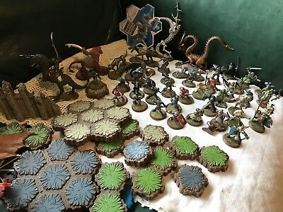HeroScape Over 42 Figures Terrain And Other Pieces