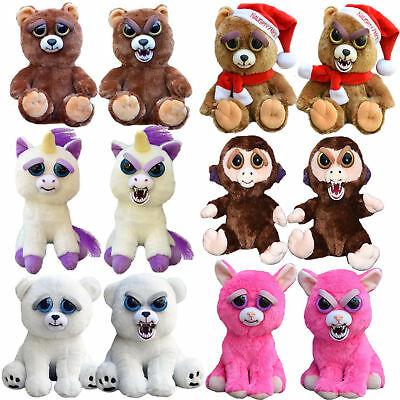 Feisty Plüsch Tiere Pets Expression Stuffed Scary Face Animal Toy Weinachten Hot
