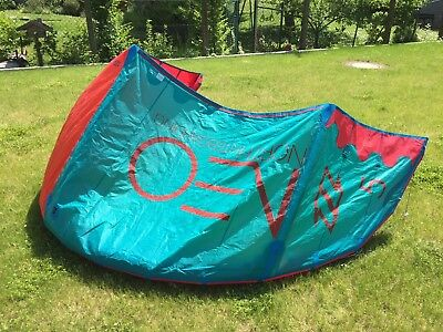 North Neo Kite 5m 2015 rot blau (Wave Allround Anfänger)