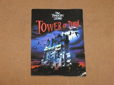 Disney Studios  Tower of Terror Height Requirement Family Group Fast Pass Card