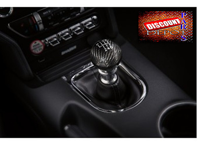 2015 2016 2017 Ford Mustang Carbon Fiber Shift Knob Factory Genuine Accessory