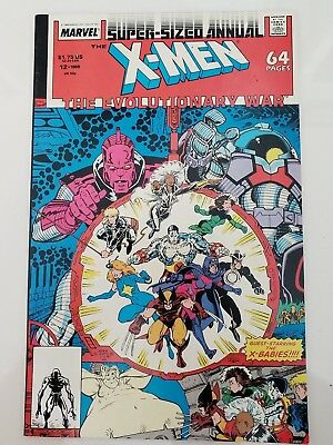 Uncanny X-Men Annual #12 (1988) Marvel Comics Arthur Adams Art! X-Babies! Mojo!