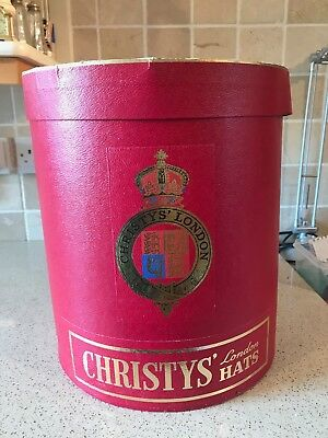 Large Vintage Christys' Of London Hat Box