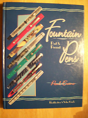 ANTIQUE FOUNTAIN INK PENS PRICE GUIDE COLLECTORS BOOK Hardback Color Pics $$$ id