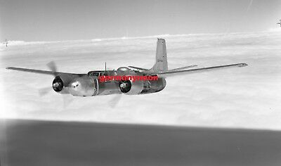 Us Air Force,  A-26 Invader,  139144,   Large Original Negative & Photo   (470)
