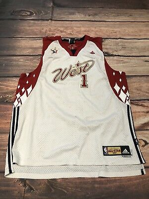 4474a009d NBA JERSEY ALL STAR 2007 TRACY MCGRADY HOUSTON ROCKETS ADIDAS AUTHENTIC SZ  2xl