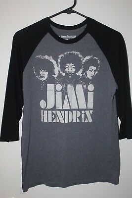 EUC JIMI HENDRIX Karl Ferris Collection Baseball Style T-Shirt Sz Medium